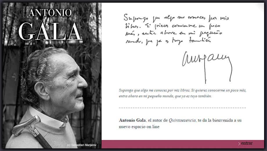 Antonio Gala AportAmor y Conocimiento