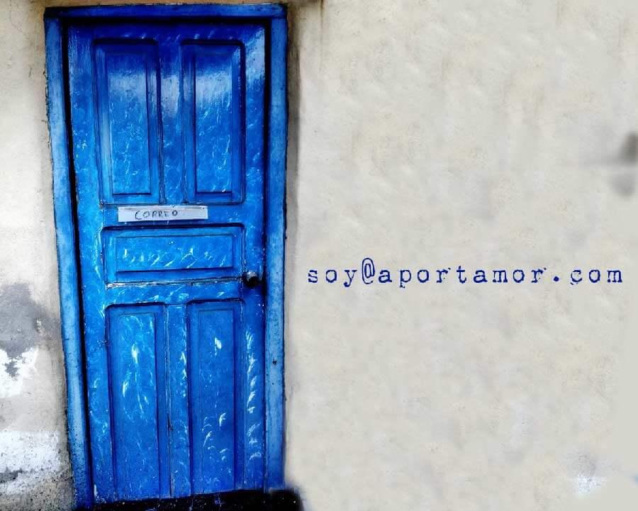 Contacto soy@aportamor.com
