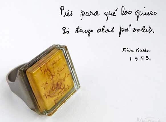 """""""Pies, para qué os quiero si tengo alas para volar-Frida-Kahlo"""
