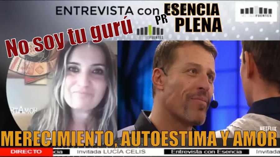 Lucia Celis Intervencion Estrategica Tony Robbins No soy tu Guru ni tu psicologa ni tu psiquiatra