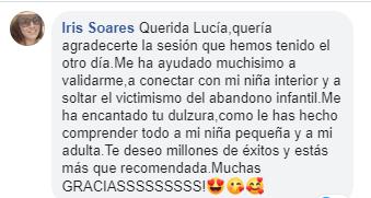 Testimonio intervencion estrategica con Lucia Celis de Iris Soares